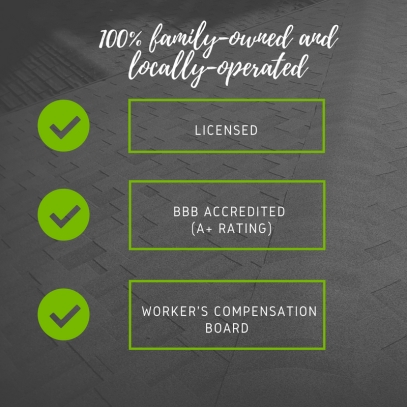 BBB-Accredited, Licensed, WCB covered