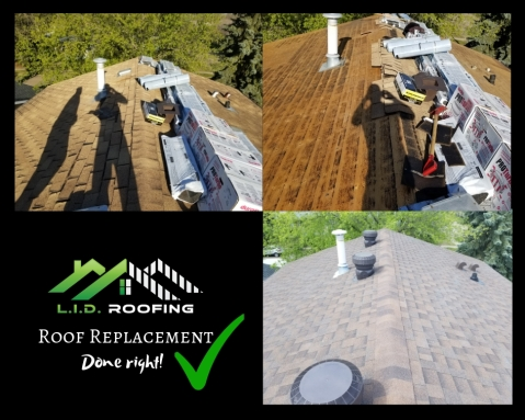 Roof Replacement bon accord